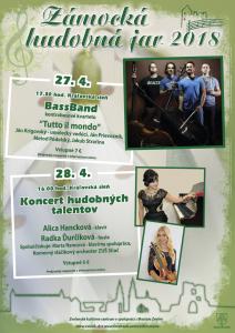 Zámocká hudobná jar 2018
